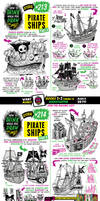 How to draw PIRATE SHIPS tutorial! by EtheringtonBrothers