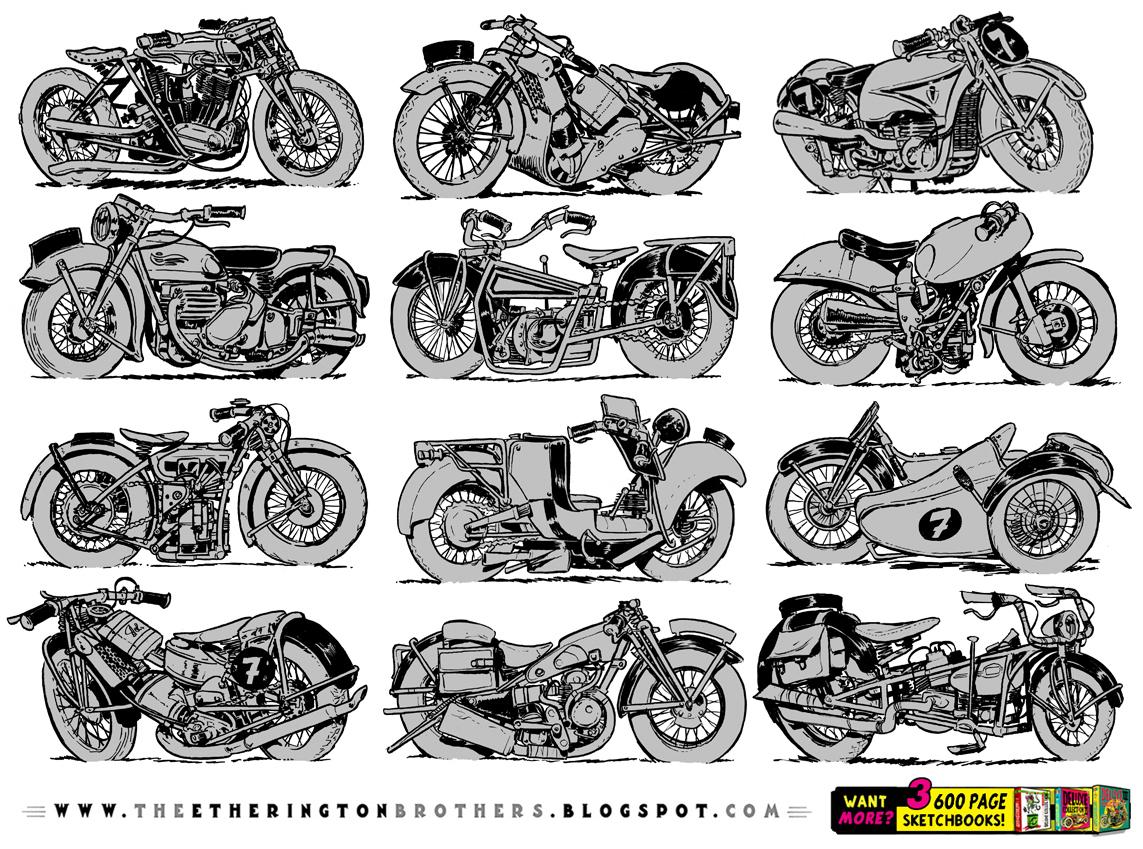 MOTORBIKE REFERENCE SHEET! by EtheringtonBrothers