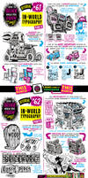 How to THINK when you draw IN-WORLD TYPOGRAPHY!