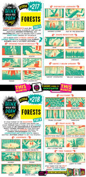 How to THINK when you draw FORESTS (part 1 of 4)