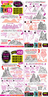How to draw MOUNTAINS - KICKSTARTER ends SOOOON!