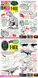 How to draw T-REX! KICKSTARTER has 17 DAYS LEFT! by EtheringtonBrothers