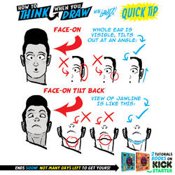 JAW LINE QUICK TIP! Tutorials BOOKS on KICKSTARTER by EtheringtonBrothers