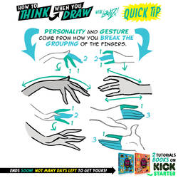 More HAND DRAWING TIPS! KICKSTARTER is LIVE! by EtheringtonBrothers