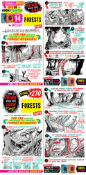 How to draw FORESTS (2 of 4) KICKSTARTER is LIVE! by EtheringtonBrothers