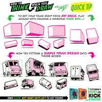How to draw VEHICLES! KICKSTARTER CLOSES SOOOOOON! by EtheringtonBrothers