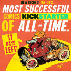 UK MOST SUCCESSFUL COMICS KICKSTARTER OF ALL TIME! by EtheringtonBrothers
