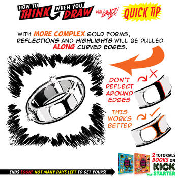 How to THINK when you draw GOLD tutorial! by EtheringtonBrothers