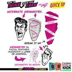 How to THINK when you draw FACES QUICK TIP! by EtheringtonBrothers