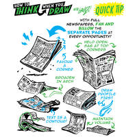 How to THINK when you draw NEWSPAPERS tutorial! by EtheringtonBrothers