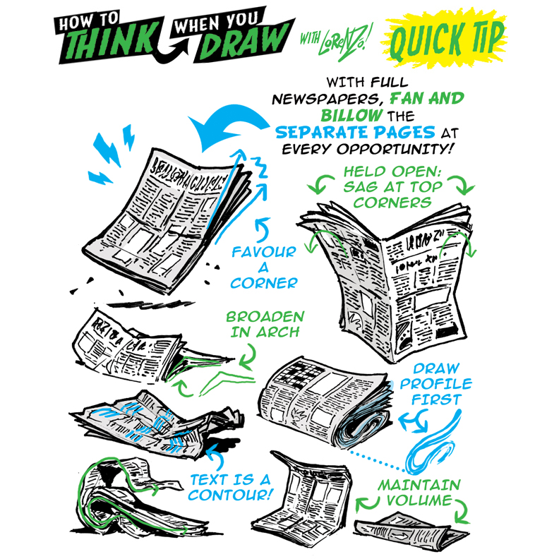 How To Think When You Draw Newspapers Tutorial By Etheringtonbrothers On Deviantart