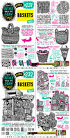 How to THINK when you draw BASKETS tutorial!