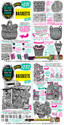 How to THINK when you draw BASKETS tutorial! by EtheringtonBrothers
