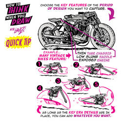 How to THINK when you draw VEHICLE DESIGN TIP! by EtheringtonBrothers