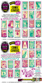 How to THINK when you draw COMIC COVERS tutorial! by EtheringtonBrothers