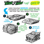How to THINK when you draw NEWSPAPERS QUICK TIP!