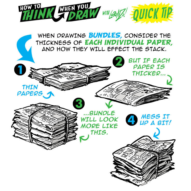 How To Think When You Draw Newspapers Quick Tip By Etheringtonbrothers On Deviantart