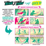 How to THINK when you draw SWORD FIGHTS TIP! by EtheringtonBrothers