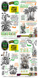 How to THINK when you draw JUNGLE CLUSTERS tute! by EtheringtonBrothers