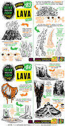 How to THINK when you draw LAVA tutorial