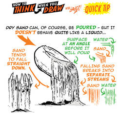 How to THINK when you draw POURING SAND QUICK TIP! by EtheringtonBrothers