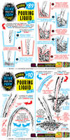 How to THINK when you draw POURING LIQUID tutorial