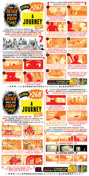 How to THINK when you draw A JOURNEY, part THREE!