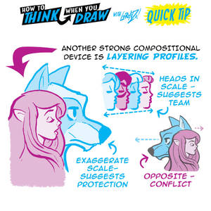 CHARACTER HEAD MEANINGS in COVER DESIGN QUICK TIP!