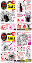 How to THINK when you draw CAVES tutorial! by EtheringtonBrothers