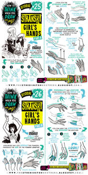 How to THINK when you draw HANDS (1 of 2) tutorial