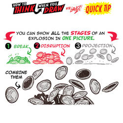 How to THINK when you draw EXPLOSION DEBRIS TIP! by EtheringtonBrothers