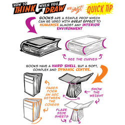 How to THINK when you draw BOOKS quick tip! by EtheringtonBrothers