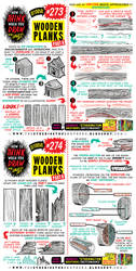 How to THINK when you draw WOODEN PLANKS pt 1 of 2 by EtheringtonBrothers