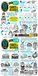 How to THINK when you draw CAKES and DESSERTS! by EtheringtonBrothers