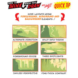How to draw ENVIRONMENT COMPOSITION QUICK TIPS! by EtheringtonBrothers