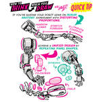 How to THINK when you draw ROBOT ARMS QUICK TIP!