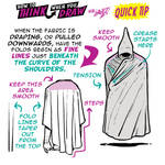 How to THINK when you draw CAPES QUICK TIP!