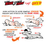 How to THINK when you draw SQUASH and STRETCH TIP!
