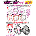 How to THINK when you draw HELMETS QUICK TIP!