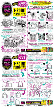 How to THINK when you draw 1-POINT PERSPECTIVE pt1