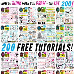 LINKS to 200 FREE TUTORIALS!