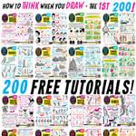 LINKS to 200 FREE TUTORIALS!