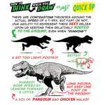 How to THINK when you draw T-REX QUICK TIP!