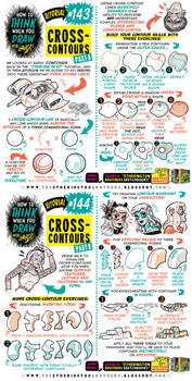 How to THINK when you draw CROSS-CONTOURS tutorial