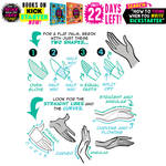 Kickstarter ENDS in 22 DAYS! How to draw HANDS!