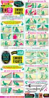 SWORD FIGHTS tutorial! KICKSTARTER ENDS SOOOOON!