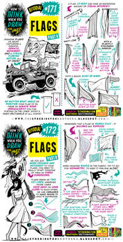 How to THINK when you draw FLAGS tutorial!