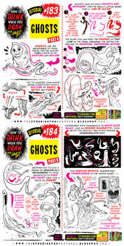 How to THINK when you draw GHOSTS tutorial!