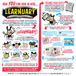 Announcing #LEARNUARY - an ENTIRE MONTH of FREE!!