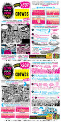 How to THINK when you draw CROWDS tutorial!